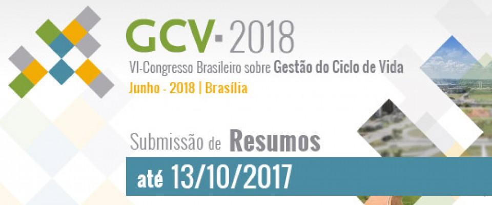Aberto período de submissão de resumos para o GCV2018