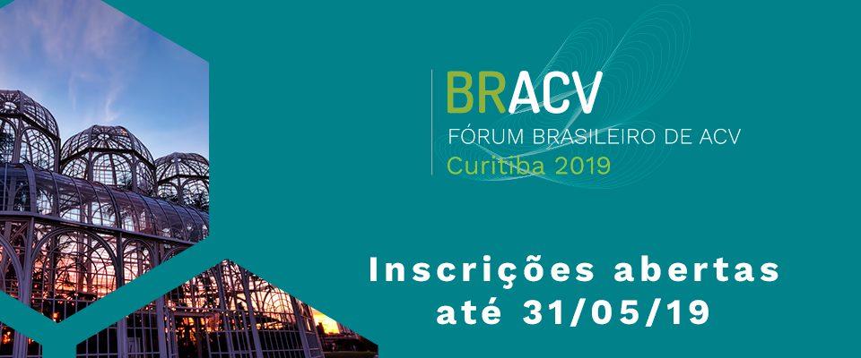 Inscrições abertas para o BRACV 2019!